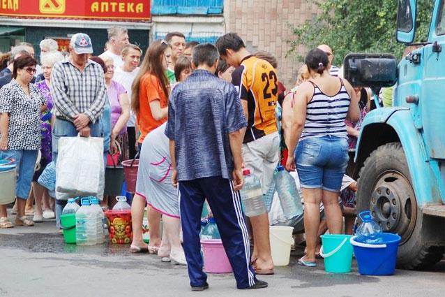 В связи с очередным порывом на водоводе Горловка - Торецк, учережден гра...