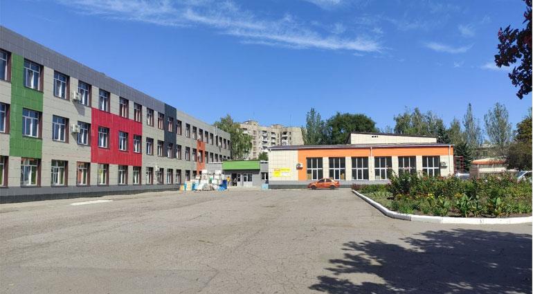 В Торецке выходят на заключительный этап ремонтные работы в ОШ №6