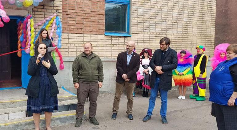 В Торецке открылся центр для детей раннего развития